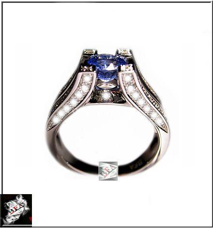 Saphir Ceylan / Diamants