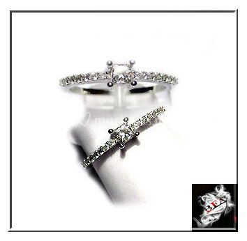Diamants sertis