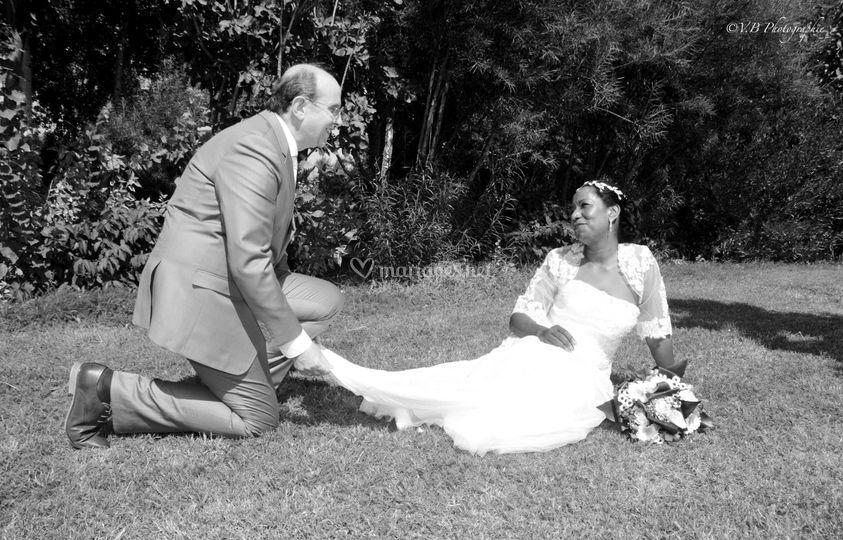 Mariage Jean Claude et Lisa