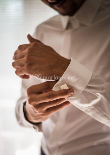 Préparatif du marié : les bout