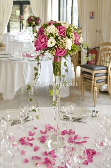 Centre de table vase Martini