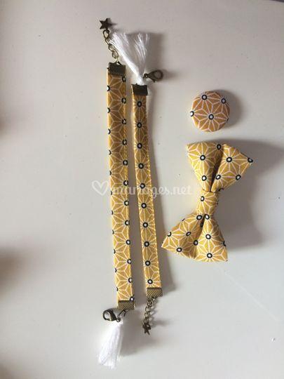 Bracelets et broches