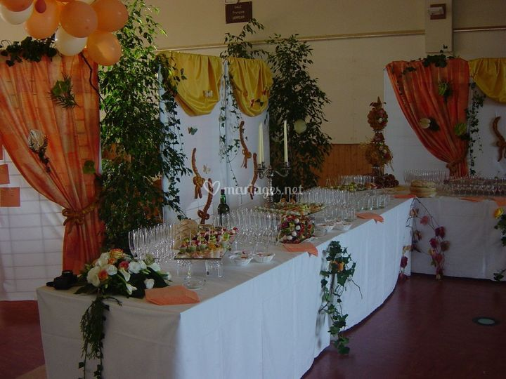 Buffet cocktail-mariage
