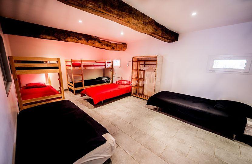 Chambre 7 pers dortoir