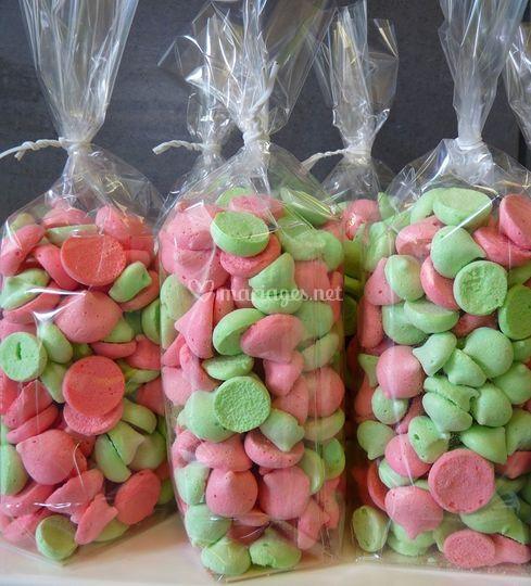 Bonbons meringues