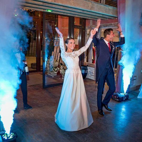 Entrées des mariés