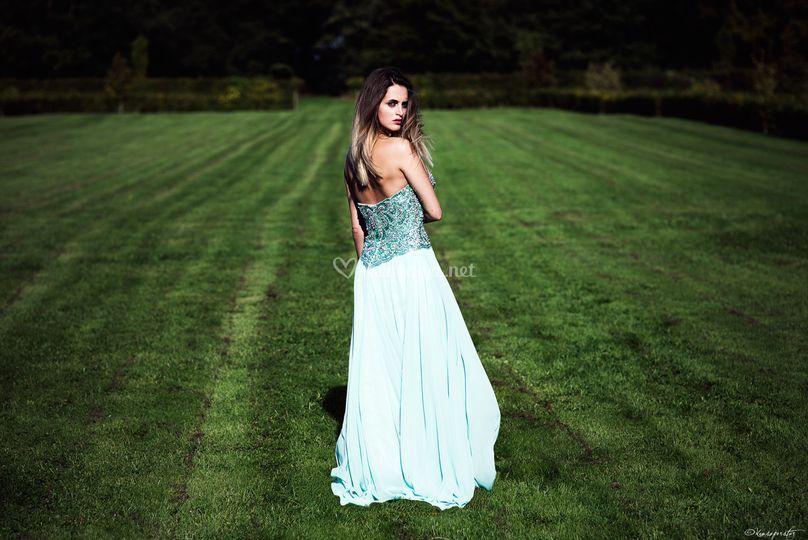 Robe de soirée, modèle jade