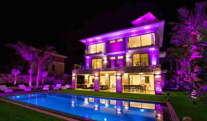 Mise en lumière villa