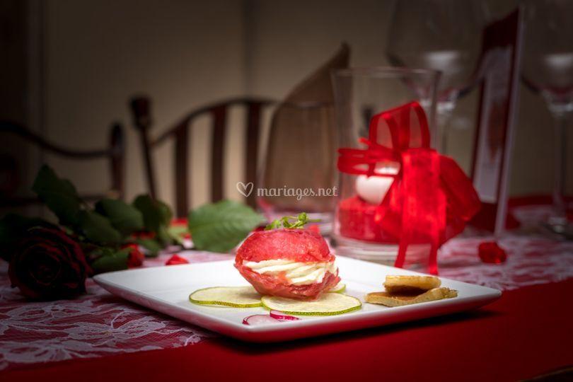 Macaron de Saumon Gravelax