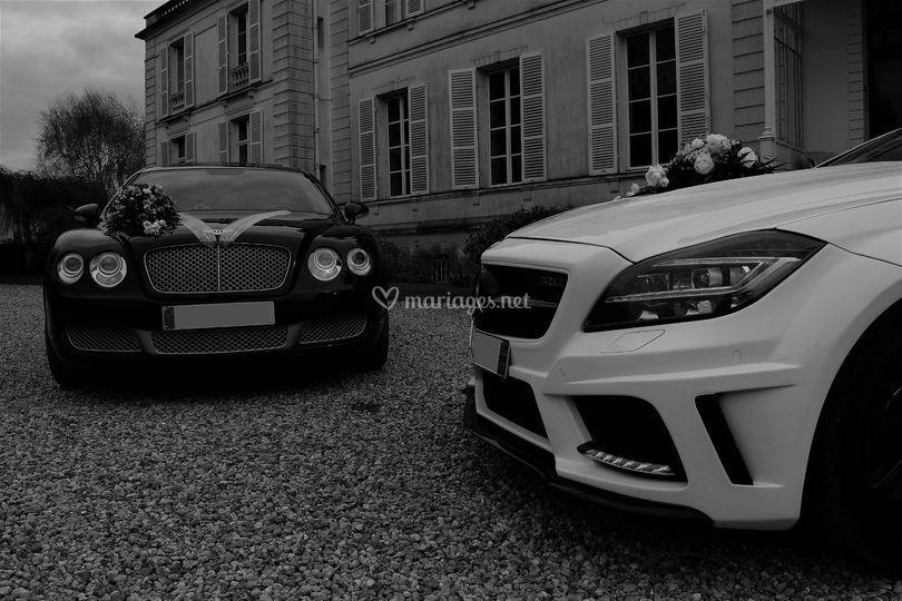 Bentley & Mercedes