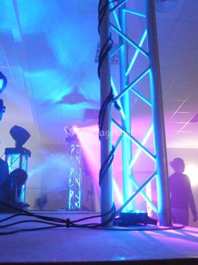 Totem illuminé