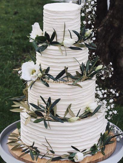 Wedding cake Olivier
