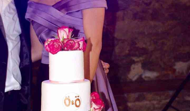 Gâteau thème rose