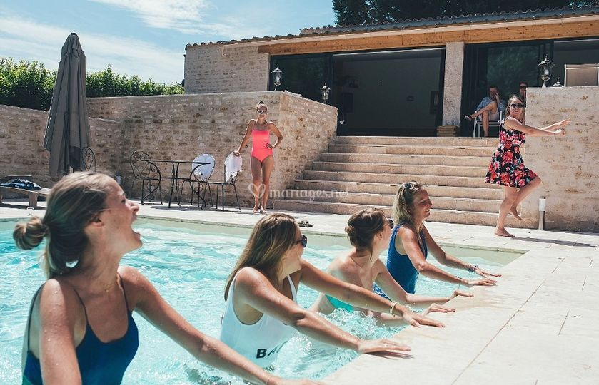 Cours piscine