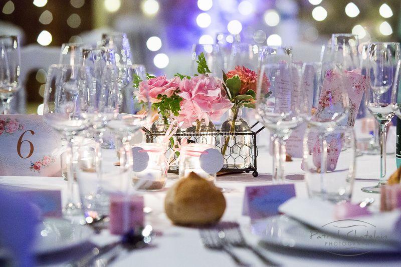 Déco de table romantique