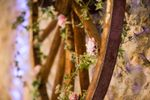 Roue fleurie
