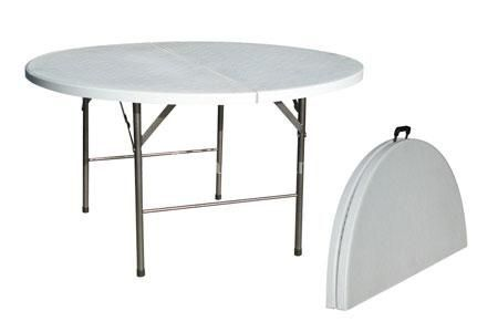 Tables rondes blanches