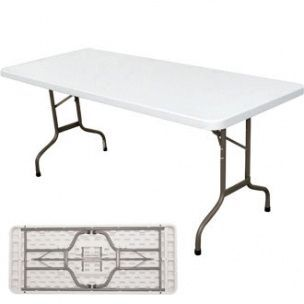 Tables rectangulaires Blanches