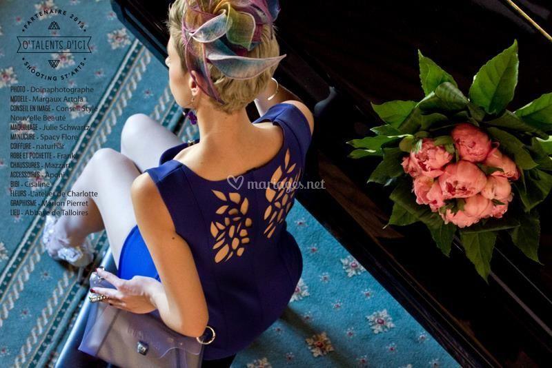 L'invitée au bouquet
