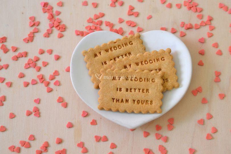 Biscuits personnalisés