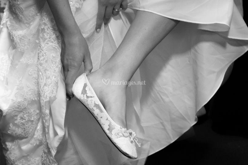 La mariée se déchaine