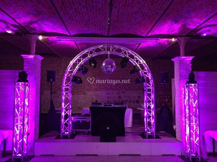 Arche structure pour lights