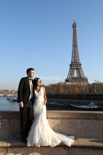 Photos mariage a Paris