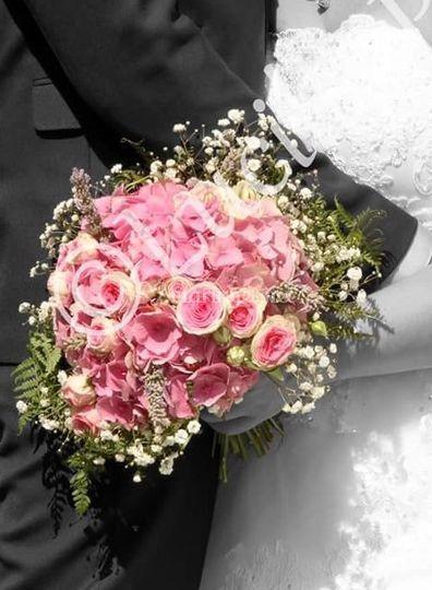Bouquet hortensia