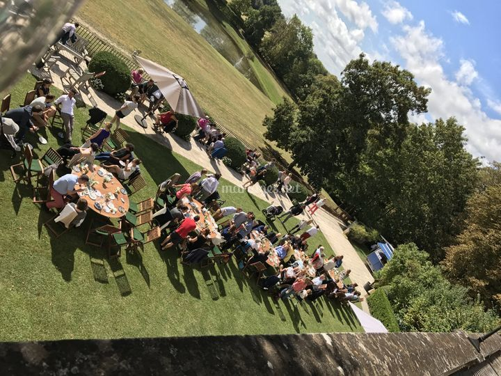 Brunch mariage a Vouvray