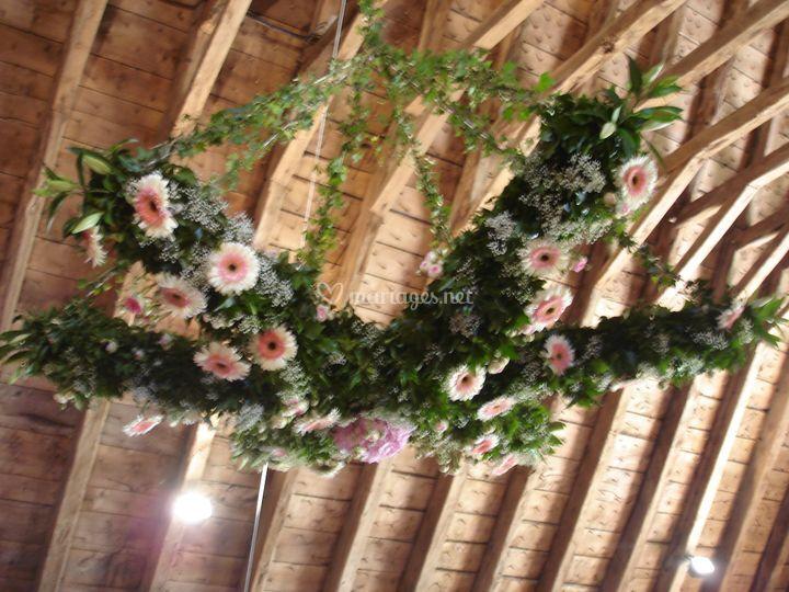 Lustre de fleurs