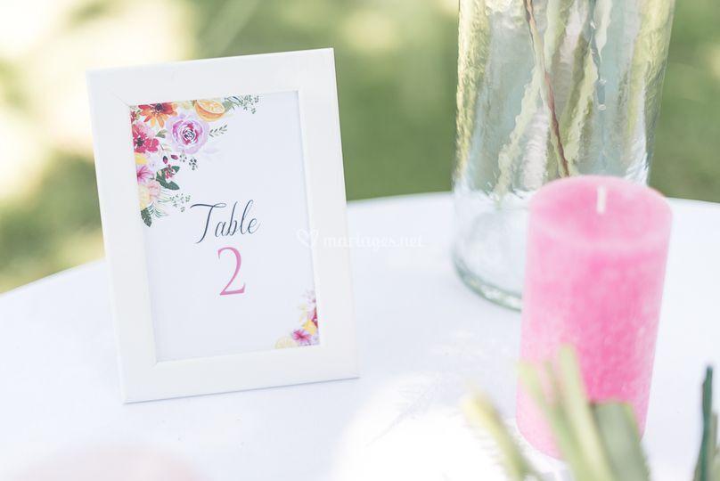 Table Juicy Fleury