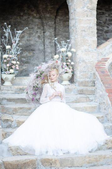 Séance de la mariée