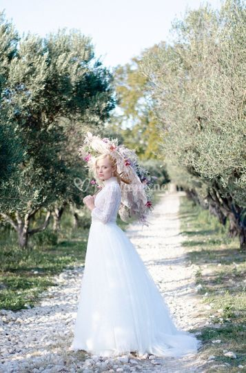 Mariage sous les oliviers