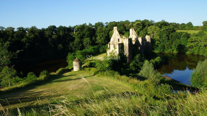 Les douves du vieux Château