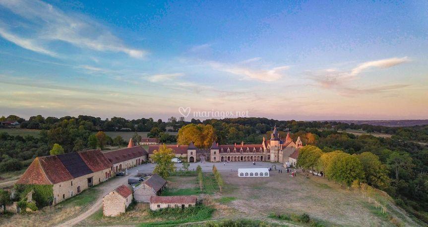 La Crête vue du vieux Château