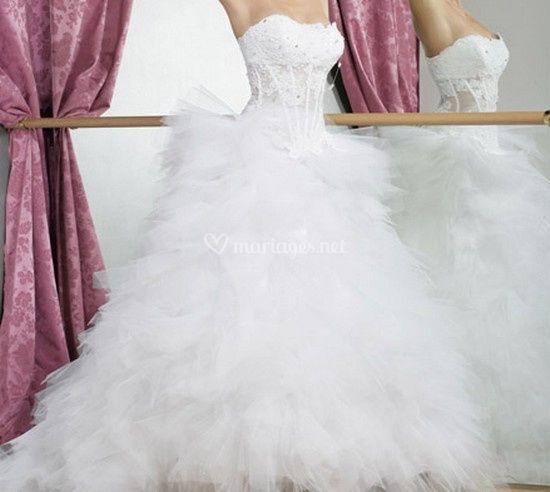 be772dabb5d Robe de mariée de milles et une nuits