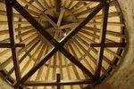 Charpente de la tour de guêt