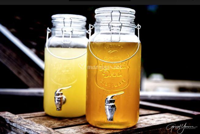 Thé et citronnade Maison