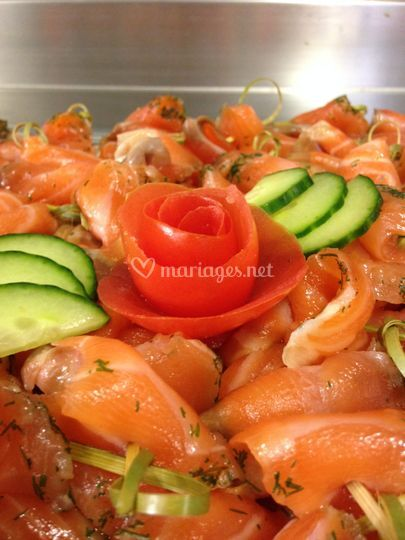 Notre saumon confit