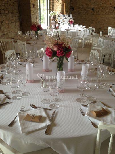 Belle table au Manoir