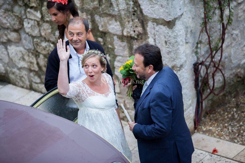 Héloise et Adrien à Baussac