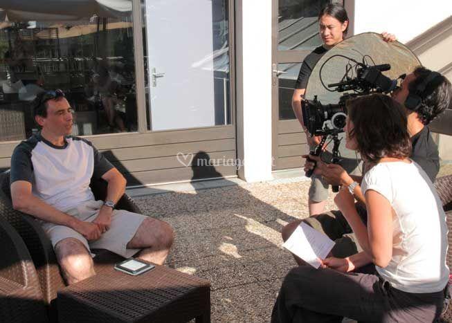 En mode interview