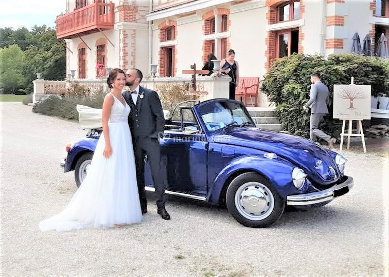 Les Mariés en VW Cox
