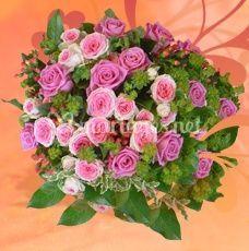 Roses mauves