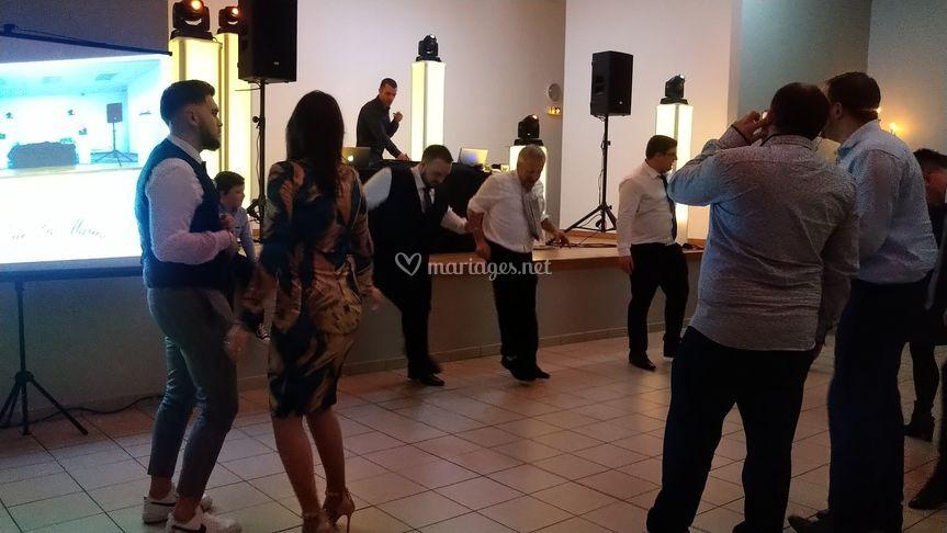 Partie danse