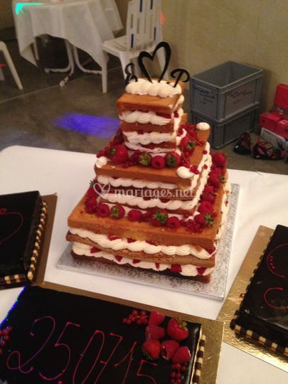 Mariage naked cake