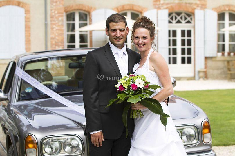 Mariage en Rolls