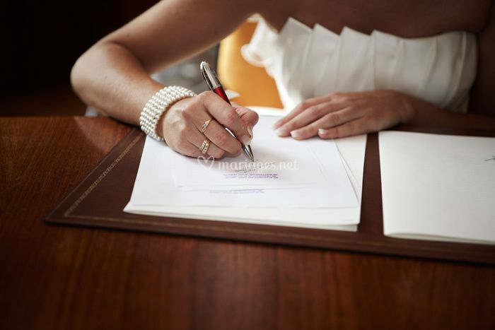 Mariage nord mairie signature zoom