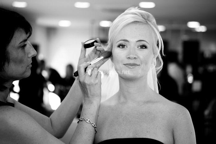 Mariage nord preparatif maquillage