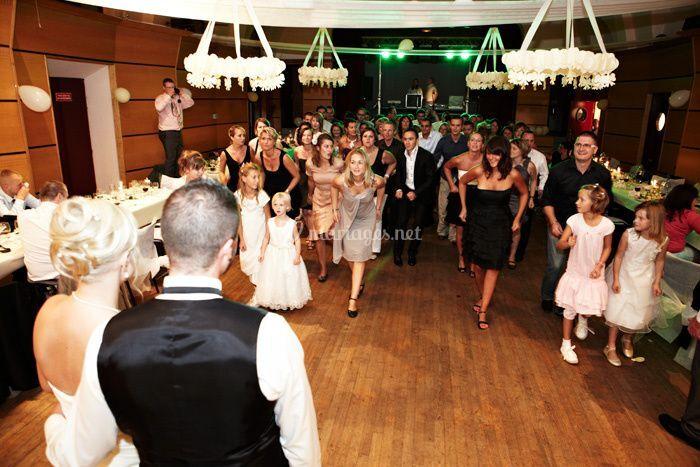 Mariage nord soirée danse invités